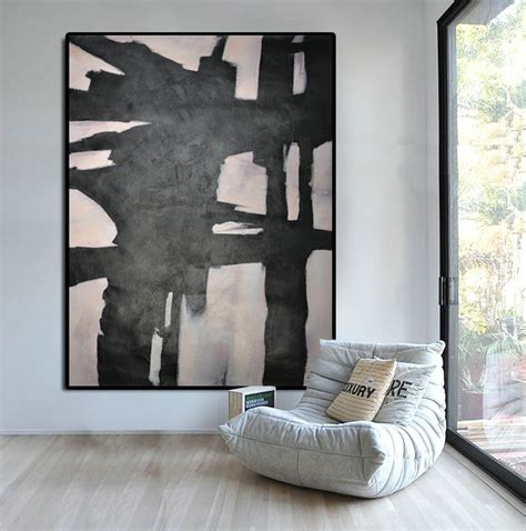large artwork extra large abstract painting horizontal acrylic painting