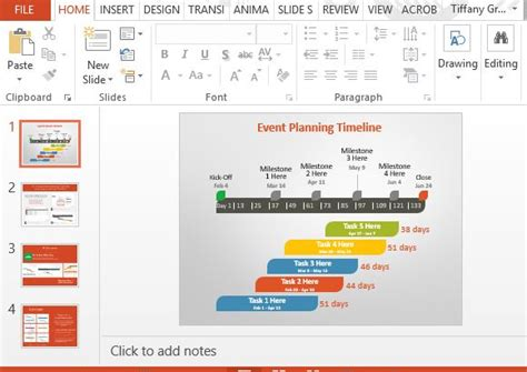 Event Presentation Templates For Powerpoint Event Management Presentation Template