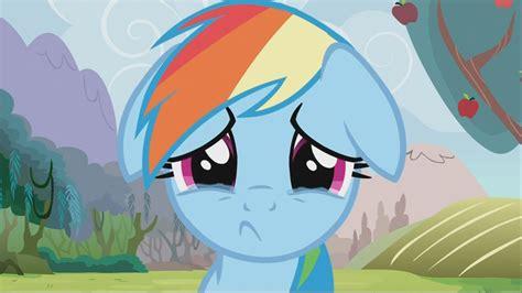 Imagenes De Sad My Little Pony | image rainbow dash sad s2e15 png my little pony