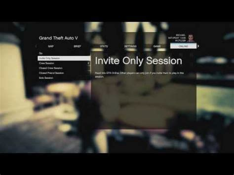 gta online how to make an invite only or solo lobby