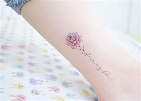 rose strength tattoo 63 fabulous feminine design ideas strength