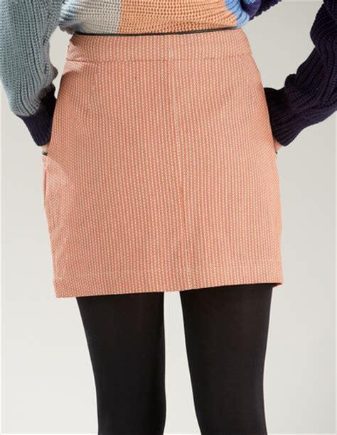 supremebeing swing retro mod 60s mini pencil skirt in