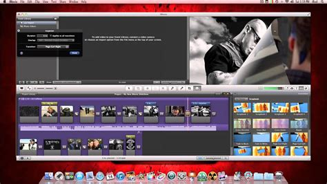 imovie slideshow templates imovie picture slideshow tutorial part 1