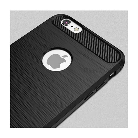 Softcase Ipaky Carbon Fiber Iphone 6 6s Plus Rubbercapsulecase6 ipaky drop proof brushed tpu for iphone 6s plus 6