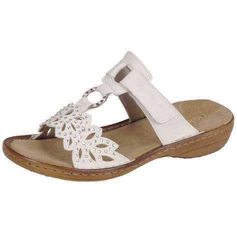 mules sandals rieker atlantis 608a6 80 wide fit slip on flat