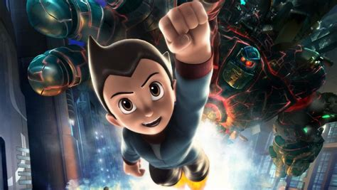 film with robot boy astro boy preview movie release sneak peak robot boys may