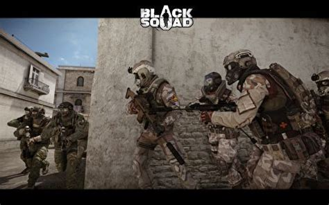 Kemeja Black Squad Japan neowiz to release person shooter in japan