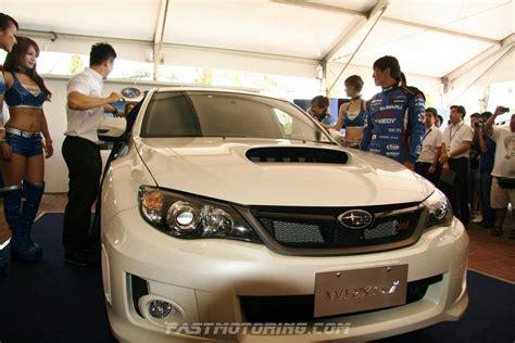 subaru impreza malaysia subaru unveils 2012 wrx sti sedan super gt malaysia 2012