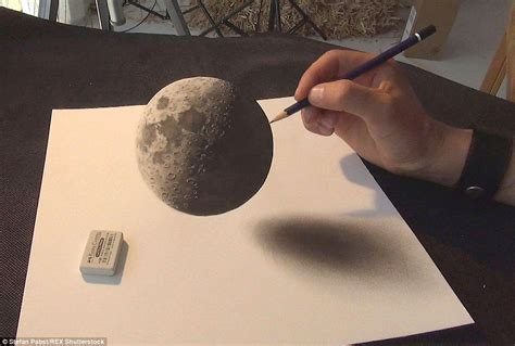 S Drawing 3d by Artist Stefan Pabst 3d Paintings Will Leave