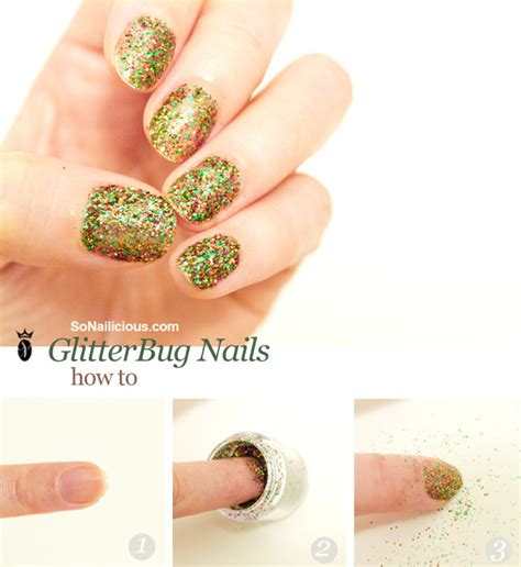 hello darling glitterbug nails how to hello darling glitterbug nails how to