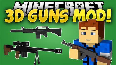 mods in minecraft guns 3d gun mod 1 7 10 call of duty ww2 9minecraft net