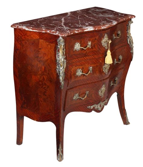 antique bombe chest of drawers marquetry inlaid bombe commode chest of drawers c 1900