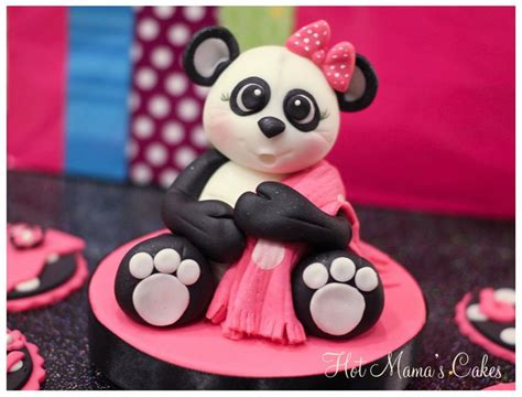 Panda Pink 17 best images about clay pandas on