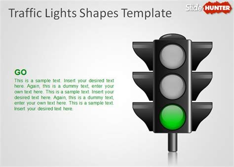 free traffic lights shapes template