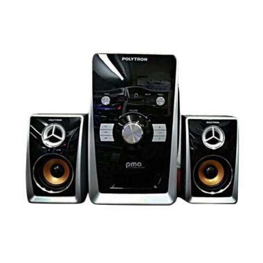 Speaker Stereo Polytron speaker kabel portabel blibli