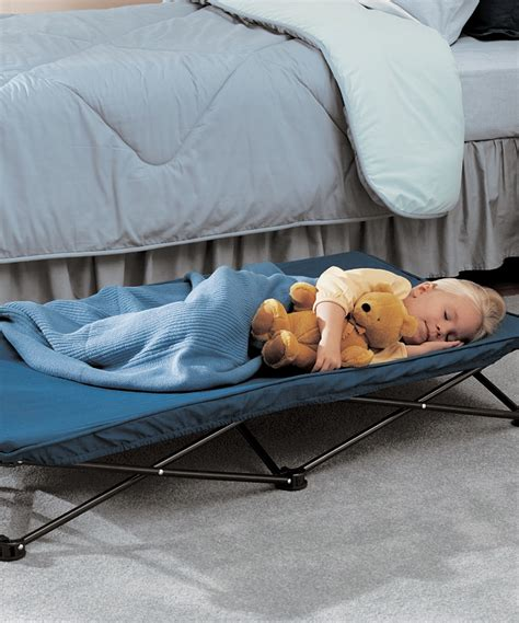 Portable Toddler Beds by Regalo Blue Cot Portable Toddler Bed Zulily