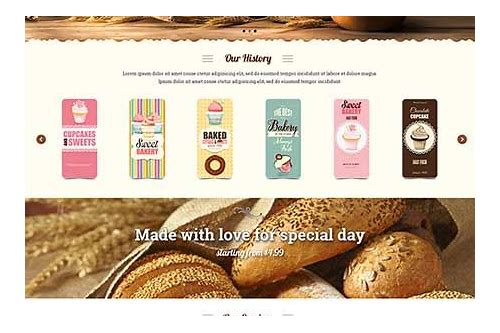 bootstrap bakery templates free download