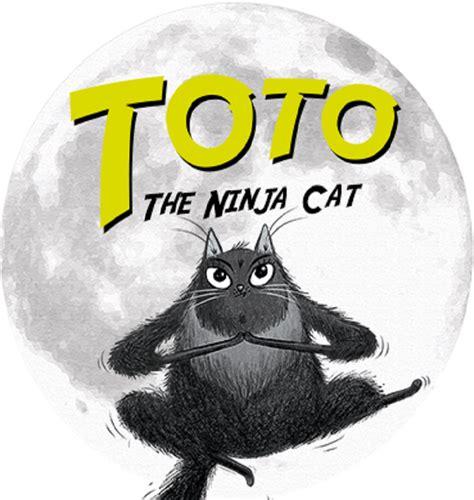 toto  ninja cat halloween mask hachette uk