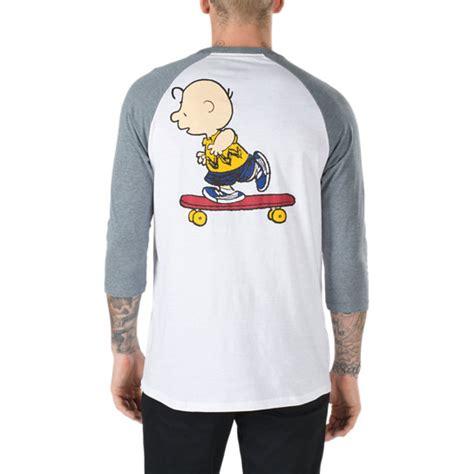 T Shirt Raglan Vans vans x peanuts raglan t shirt vans official store
