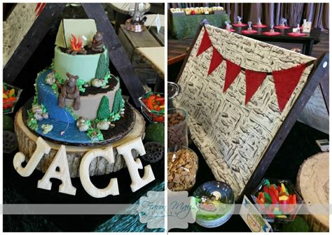 party themes in may 56 best images about cing birthday party on pinterest