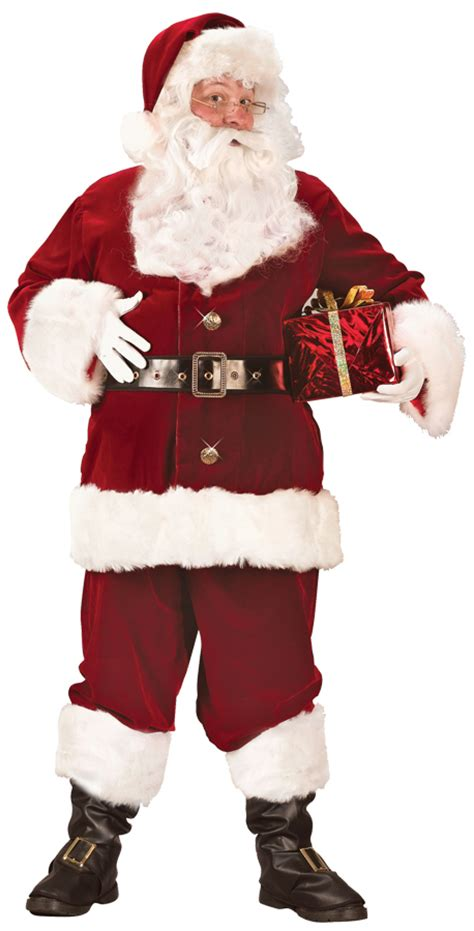 high quality christmas costumes santa suit super deluxe