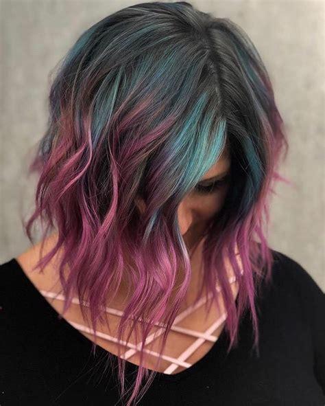 medium length hair color 10 creative hair color ideas for medium length hair