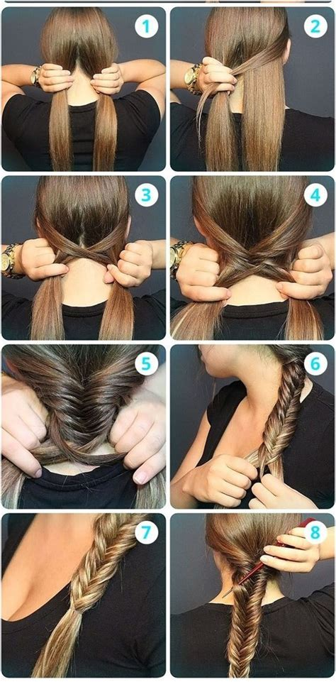 how to make a fish tail braid with puffy thick hair 10 braided hairstyles from summer to fall popular haircuts