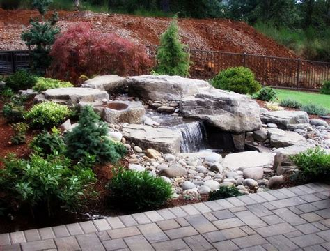 backyard features 9 best images about outdoor water feature on pinterest