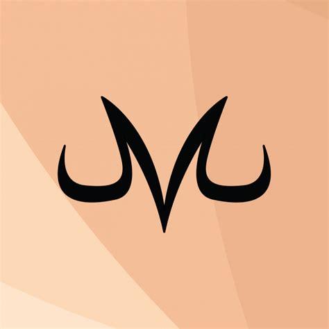 wallpaper hd majin vegeta logo