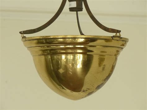 Brass Light Fixtures Ceiling 1920 Brass Cone Ceiling Light Fixtures For Sale At 1stdibs