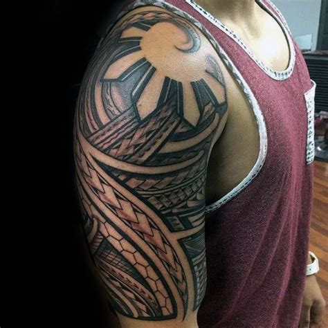 philippines flag tattoo design sun guys tattoos