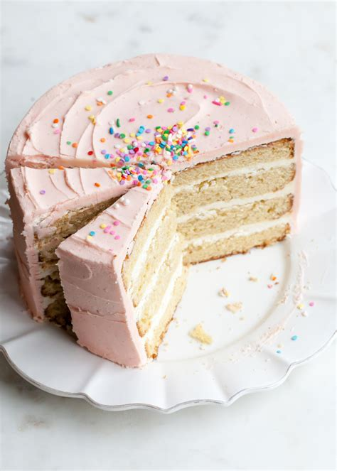 Butter Birthday Cake 1 how to make the best butter cake style sweet ca