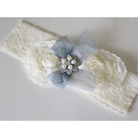 Handmade Wedding Garter - victoriana lace wedding garter bridal bags accessories