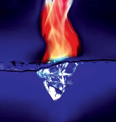 fire  ice images fractal fire  ice images