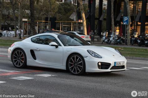 0 100 Porsche Cayman S by Porsche 981 Cayman S 24 November 2016 Autogespot