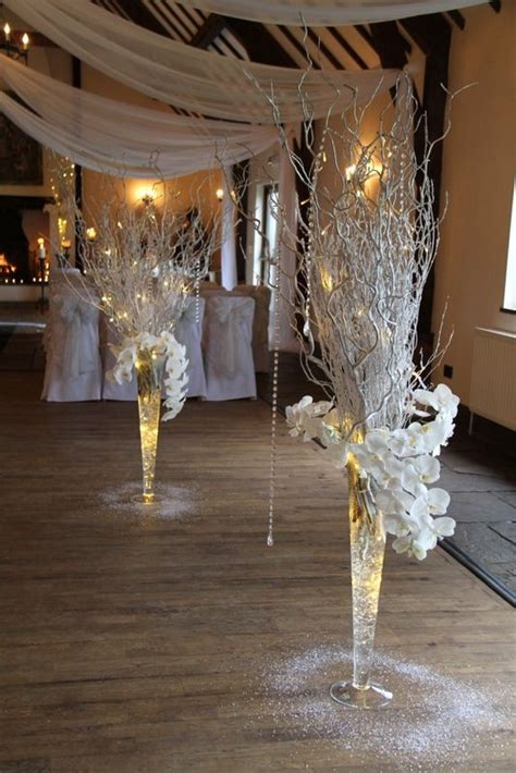 winter wedding theme centerpieces 3 flower design events spectacular winter wedding day at the great at mains