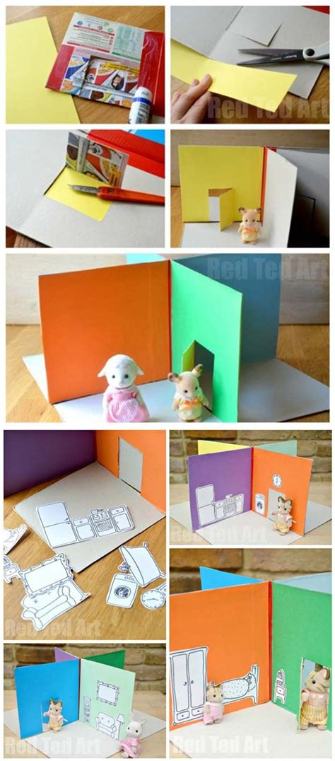kids craft doll houses 110 best images about kids craft miniature on pinterest trees crafts and