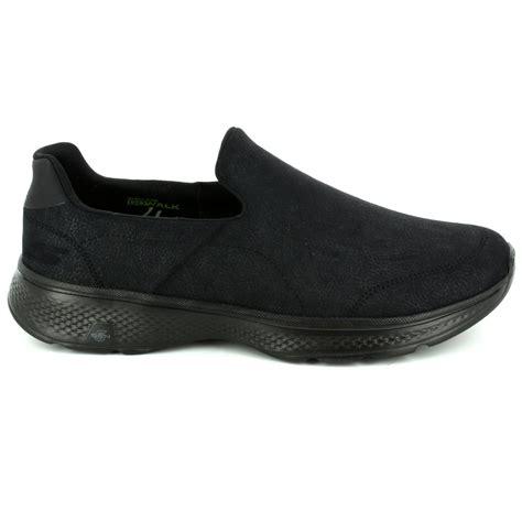 Skechers Go Walk4 skechers go walk 4 mens 54154 bbk black trainers