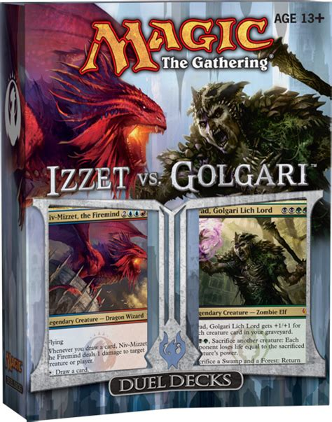 mtg duel decks duel decks izzet vs golgari daily mtg magic the