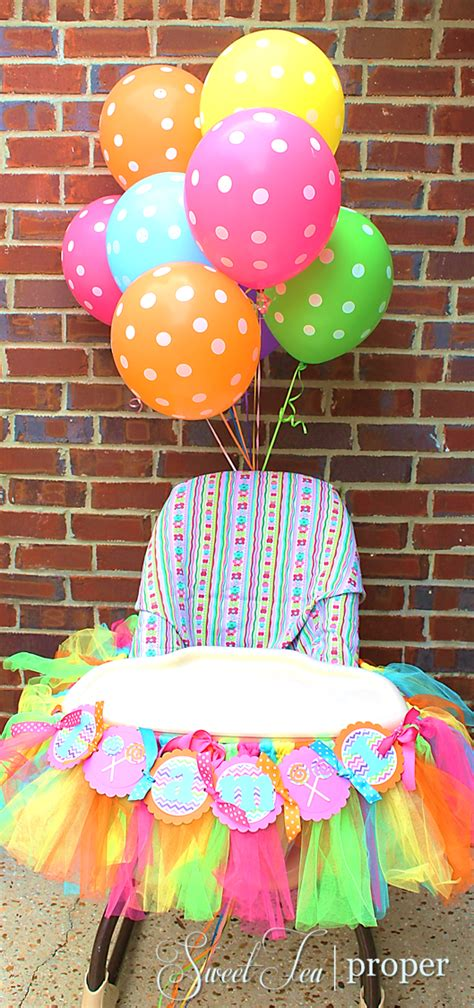 High Chair Decorations 1st Birthday by Themed Birthday Ideas 1st Birthday High