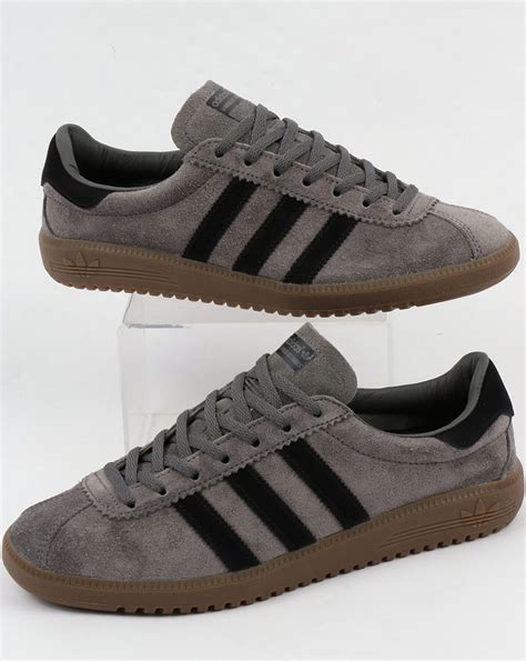 adidas bermuda adidas bermuda trainers grey black gum suede shoes
