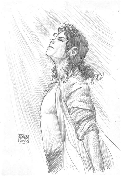 How To Draw The King Of Pop
