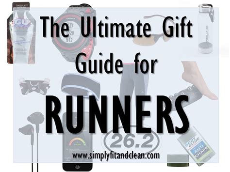 the ultimate gift guide for runners
