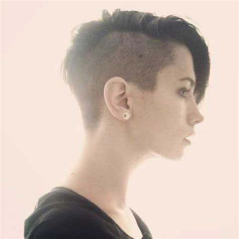 how to style half shaved haircut for women best 25 half shaved ideas on pinterest