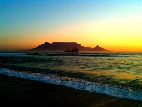 Table View by Cape Town Table View Sunset On The End To