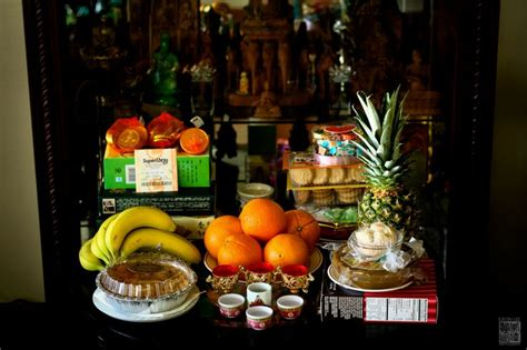 chinese new year traditions buddhists new year s and altars