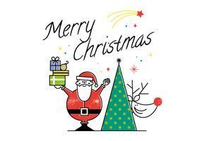 merry christmas  vector art   downloads