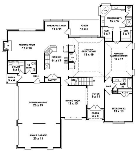 4 bedroom country house plans 654240 french country 4 bedroom 3 5 bath house plan house plans floor plans