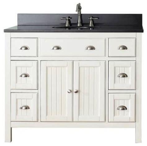 Bathroom Vanities Hamilton Avanity Hamilton Vanity 42 Inch White Farmhouse Bathroom Vanities And Sink Consoles