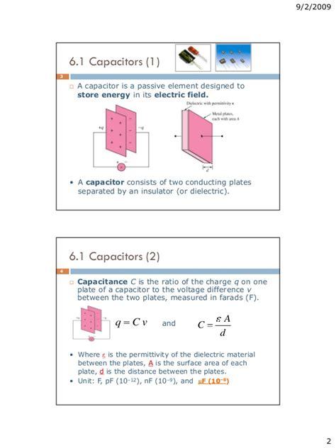 fundamentals of inductors and capacitors capacitors and inductors